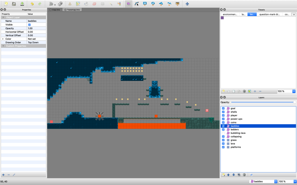 Tiled with lots of object layers